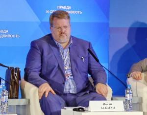 Йохан Бекман: в России еще есть профессия журналист, на Западе - нет