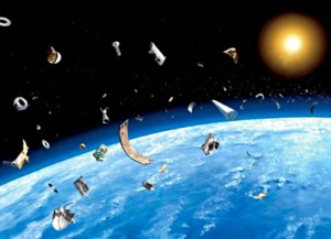 Космический мусор предлагают уничтожать лазером с МКС