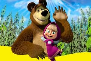 «Маша и Медведь» стал популярен в Италии