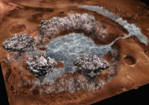 На Марсе обнаружена жидкая вода