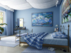 На здоровье человека влияет цвет стен в доме