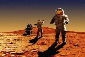 Названа дата высадки человека на Марс