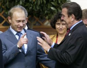 Путин рассказал, как Шредер парился в русской бане