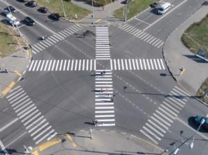 В России пешеходам разрешили ходить по диагонали