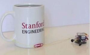 В США создали миниатюрных роботов - силачей