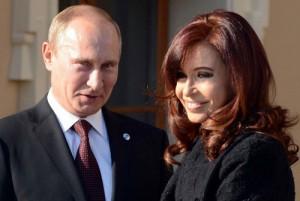 Владимир Путин принимает президента Аргентины в Кремле