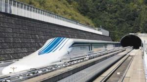 Японский экспресс - маглев установил мировой рекорд скорости