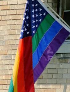 В США Белый дом осветили цветами ЛГБТ - сообщества