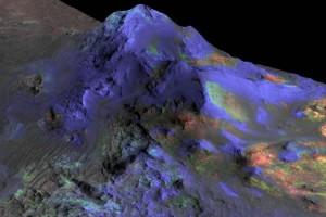 В кратерах Марса обнаружены огромные залежи стекла