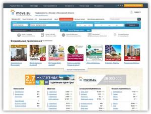 Портал о недвижимости Move провел редизайн сайта