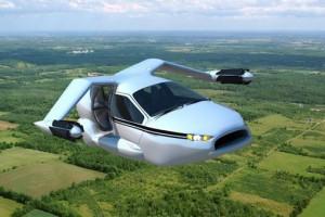 В России планируется создание летающего автомобиля - квадрокоптера