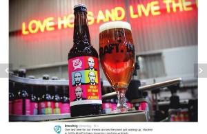 В Китае марку популярного пива назвали в честь президента Путина