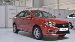 Новая Lada Vesta получила положительный отзыв от президента РФ