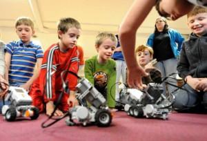 Частный бизнес России вкладывается в развитие детской робототехники