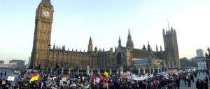 Лондон солидарен с мигрантами!