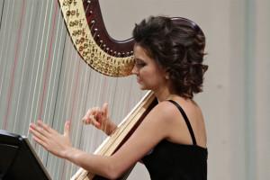 Арфистка Надежда Сергеева дала концерт в консерватории