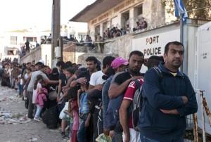Границы Греции пересекает 7000 беженцев в день