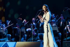 Галина Босая подарила публике « XII Священных псалмов»