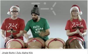 Испанец сыграл для канадцев Jingle Bells на ягодицах