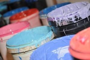 Фактурные краски для разнообразия интерьера