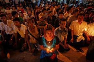 Жители Мьянмы призывают тайский суд к справедливости