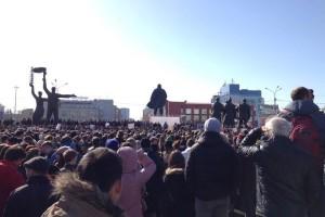 Акция в поддержку осужденного Виктора Гончара прошла в Новосибирске