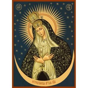 История и иконография образа Остробрамской иконы Божией Матери