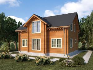«Доминант» представляет новые проекты домов из клееного бруса