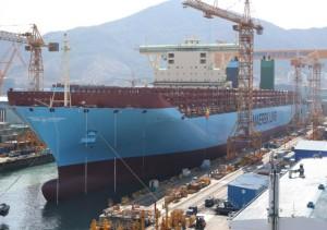 Самый большой контейнеровоз в мире будет официально введен в эксплуатацию 19 февраля