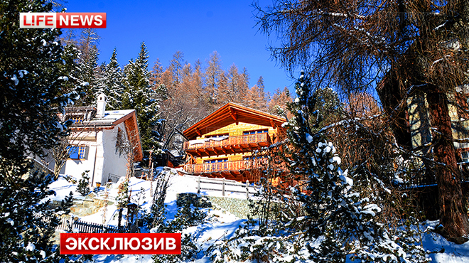 Главный оппозиционер РФ Михаил Касьянов встретил Рождественские праздники на швейцарском курорте Санкт-Мориц