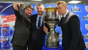 Тур главного трофея КХЛ станет международным благодаря «Балтике 3»