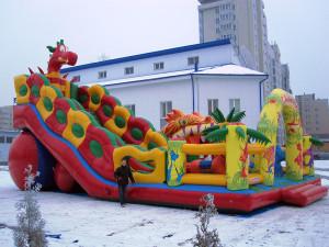 """35 детей травмировались на развлекательной площадке """"Чудо-остров"""" в Новгороде"""