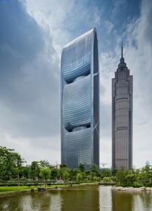 Башня Pearl River Tower в Гуанчжоу – самое экологичное здание Китая