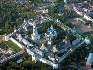 Переименование МО в Сергиевское благословили в Троице-Сергиевой Лавре