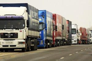 Девять областей Западной Украины блокируют передвижение 100 российских фур