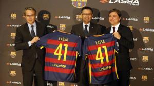 Новый рекламный ролик с участием игроков ФК Барселона создала Lassa Tyres