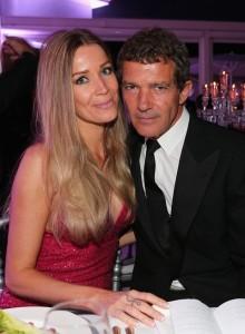 Антонио Бандерас появился на вечеринке Ави Лернера под руку со своей девушкой