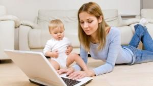 Молодые мамы смогут воспользоваться советами интернет-проекта ViLine.tv