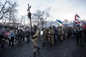 Киев: Протестующие на майдане требуют диалога с властью