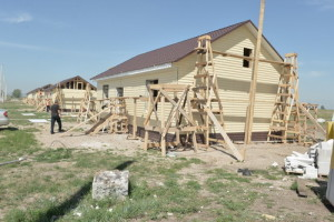 Хакасия: Жилье для людей в Усть-Бюре построены с нарушениями