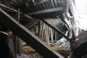 Уфа: Обрушилась крыша многоквартирного дома