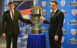 Московские любители хоккея увидели главный трофей КХЛ благодаря «Балтике 3»