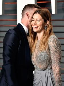 Самая милая пара Оскара:супруги Биль-Тимберлейк