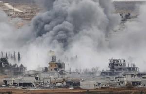 В первые сутки перемирия территорию САР обстреляли со стороны Турции