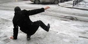 Оренбург: Возросло количество жителей, пострадавших от гололеда