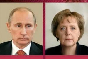 Детали телефонного разговора Меркель и Путина обнародовал Кремль