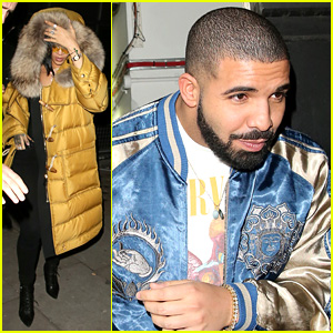 Рианна и Дрейк появились вместе на вечеринке после выхода совместного клипа