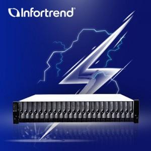 Компания Infortrend представила новое хранилище SFF EonStor DS 1036B