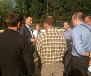 Марат Оганесян встретился с  дольщиками СУ-155 в Одинцово