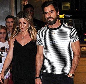 Дженнифер Энистон и Джастин Теру сходили на свидание с известной парой
